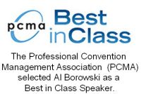 PCMA Selected Al Borowski as a Best in Class Speaker